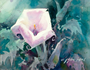 """Paint a White Flower"" @ SCOTTSDALE ARTISTS' SCHOOL"