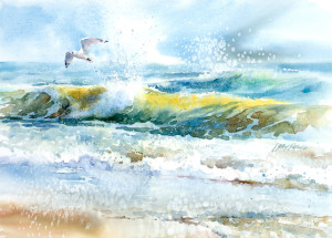 """Watermedia & Acrylic"" @ Santa Clara Valley Watercolor Society"
