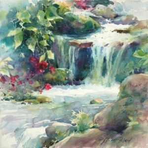 """Watercolor Unleashed - Wet & Wild - ZOOM WORKSHOP"" @ San Diego Watercolor Society"