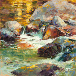 """WET AND WILD!"" Plein Air to Studio"" @ Sedona Arts Center; North Studio"