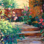 """Summer Path"" Oil Archival Canvas Board ""11 x 14"""