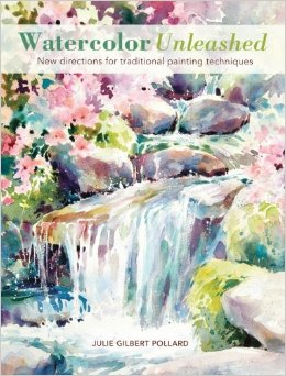 """Watercolor Unleashed"" book cover"