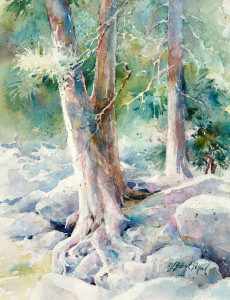 """Watercolor Unleashed – Wet & Wild! Paint a Woodsy Creek in Brilliant Color"" @ SCOTTSDALE ARTISTS' SCHOOL"