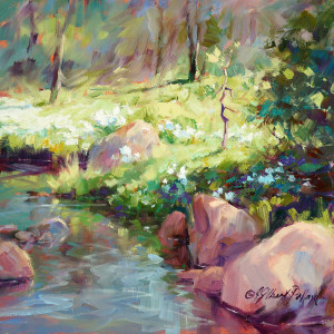 """Discover Oil Painting  - Paint a Mountain Stream"" @ SCOTTSDALE ARTISTS' SCHOOL"