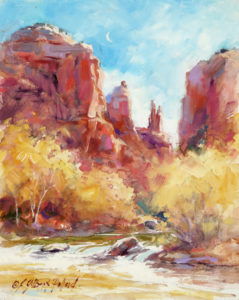 """Watercolor Unleashed: Paint the Red Rocks of Sedona & Sparkling Oak Creek"" @ SCOTTSDALE ARTISTS' SCHOOL"