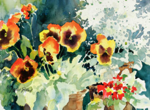 """Watercolor Unleashed: Flowers - Delicate & Bold"" @ SHEMER ART CENTER"