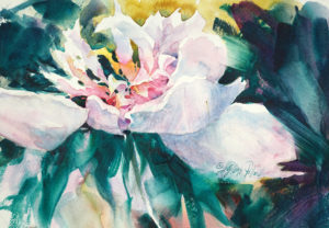 """Watercolor Unleashed - White Flower"" @ Scottsdale Artists' School"