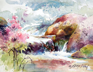 """Watercolor Unleashed - Paint Vibrant Water Scenes in Brilliant Color"" @ San Diego Watercolor Society"