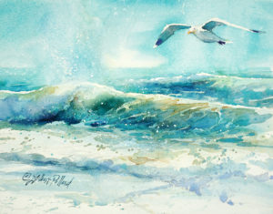 """WET & WILD! Paint an Ocean Scene in Watercolor"" @ Shemer Art Center"