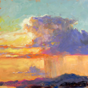 """Discover Oil Painting – MONSOON SUNSET"" @ Scottsdale Artists' School"