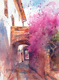 "VIRTUAL CLASS - ""WATERCOLOR UNLEASHED: PAINTING FROM PHOTOS"" @ Virtual with Julie/Shemer Art Center"